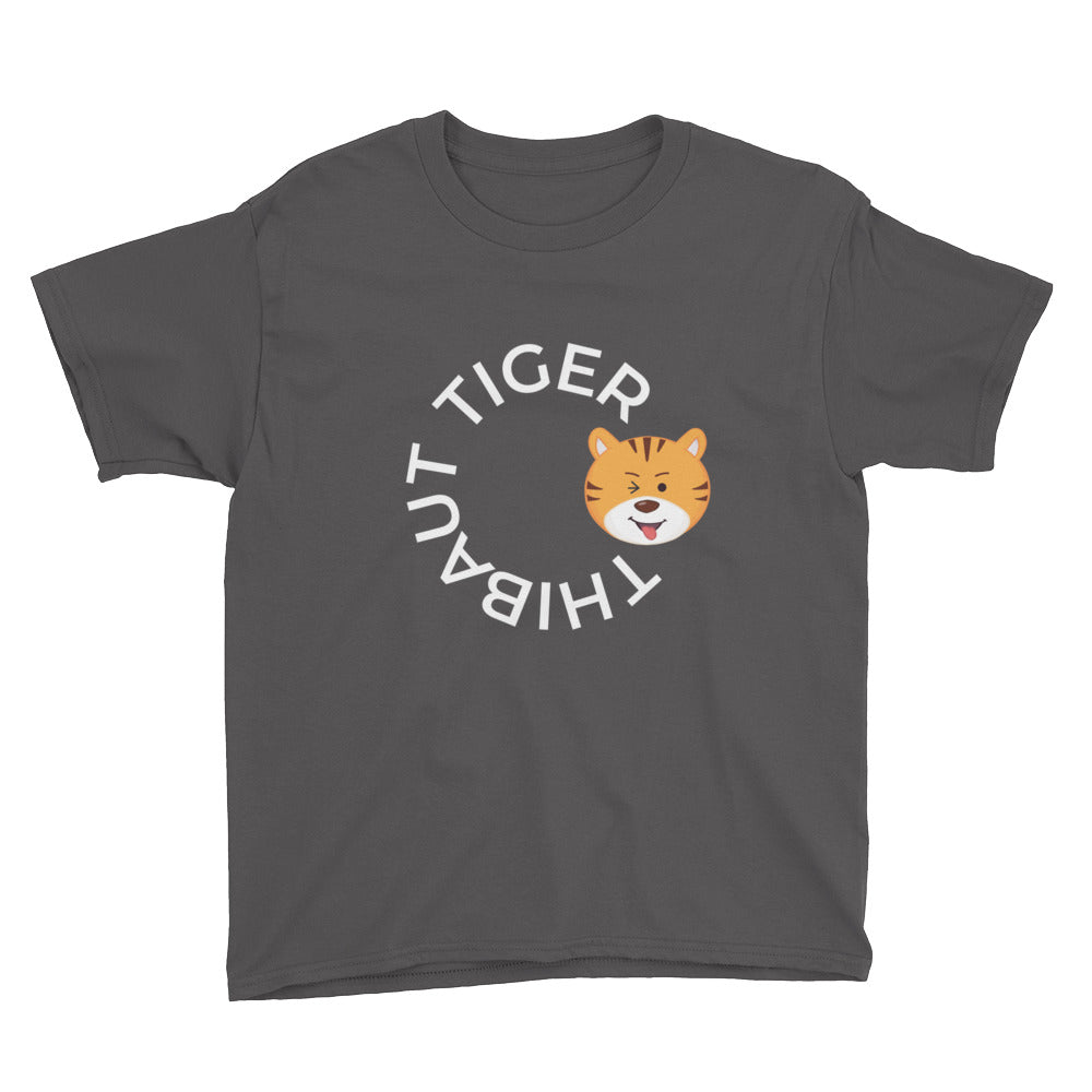 Boy's Youth Printed Thibaut Tiger T-Shirt