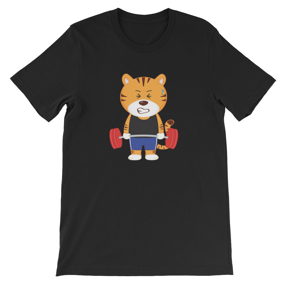 Men's Printed Gym Tiger T-Shirt