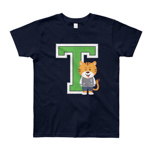 Unisex Youth (8-12 Years) Printed T College T-Shirt