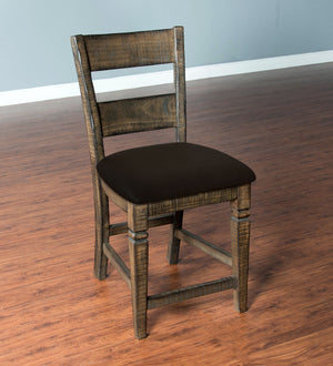 Homestead Ladderback Chair w/ Cushion Seat