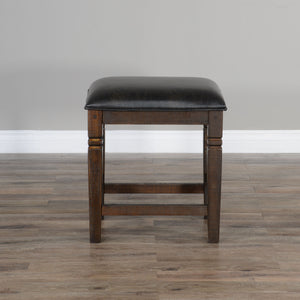"24""H Homestead Stool w/ Cushion Seat"