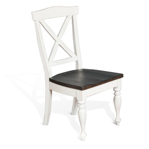 Carriage House Crossback Chair Wood Seat