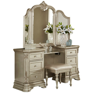 1919NC-15* Vanity Dresser with Mirror