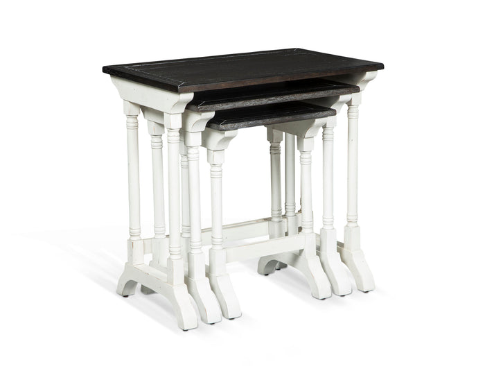 Carriage House 3-Piece Nesting Table Set