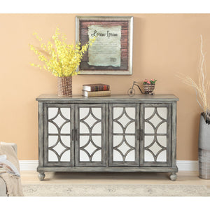 22561 4 Drawer Media Credenza