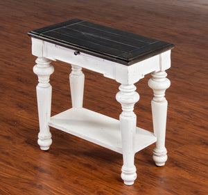 European Cottage Chair Side Table