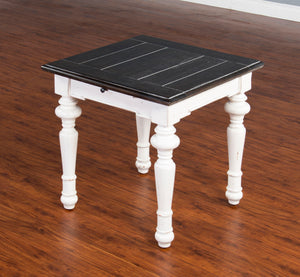 European Cottage End Table