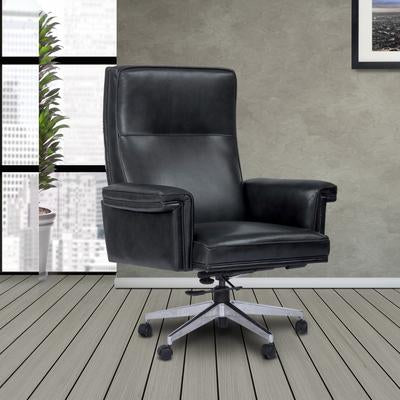 Cyclone Leather Desk Chair