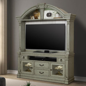 Lafayette 2 piece Entertainment Console & Hutch