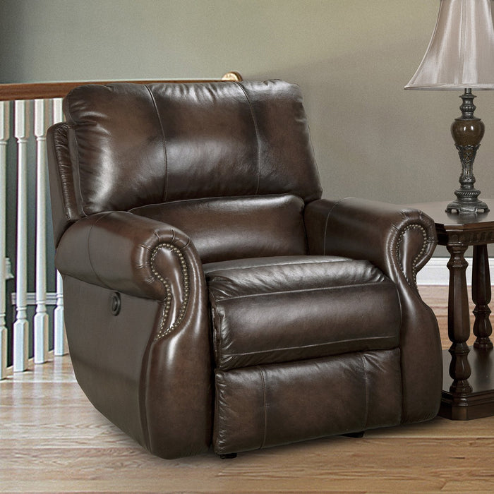 Hawthorne Brown Power Recliner