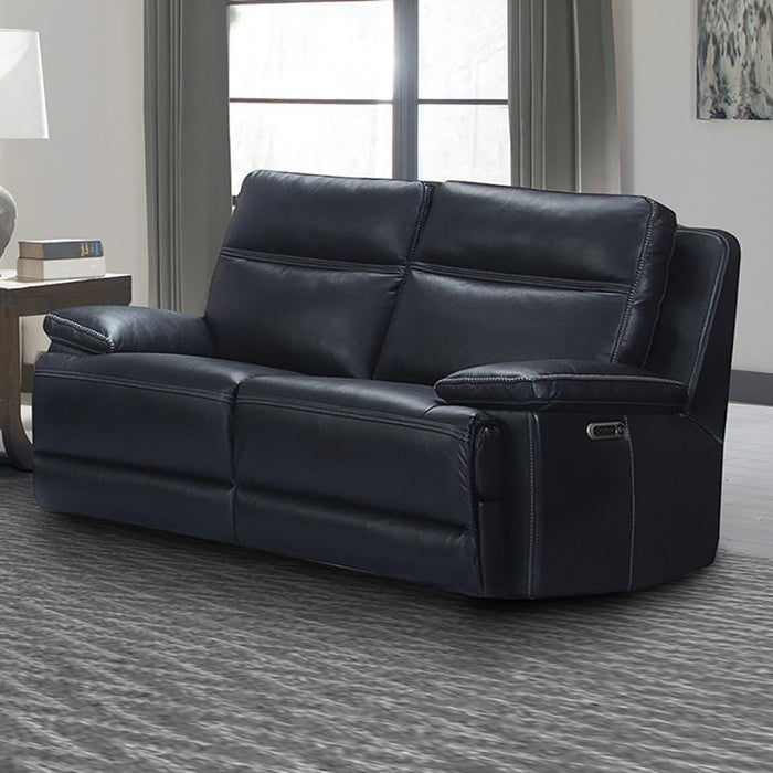 Paxton Navy Power Loveseat