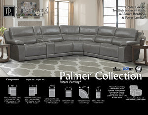 Palmer Greige 6pc Package A (811LPHL, 810P, 850, 840, 860, 811RPHL)