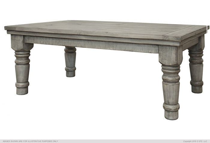 Botero Gray Cocktail Table Gray Finish