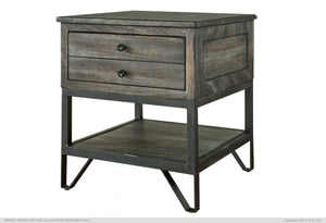 Moro End Table w/1 Drawer