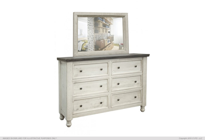 Stone Collection 6 Drawer Dresser