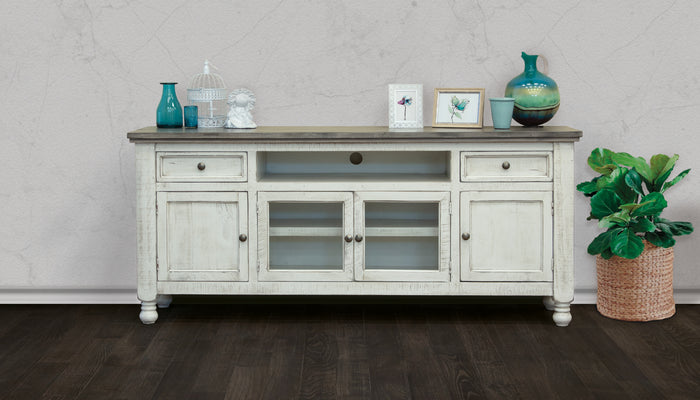 "Stone Collection 80"" TV Stand"
