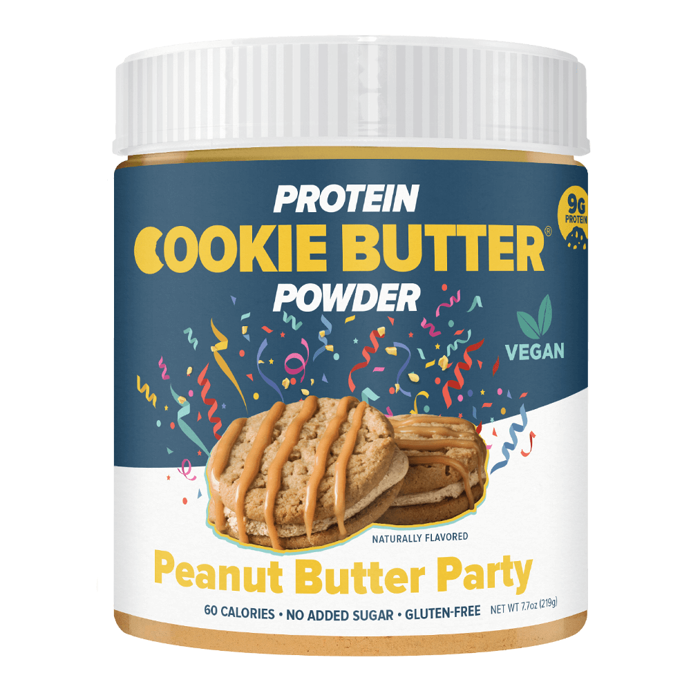 Load image into Gallery viewer, PROTEIN POWDER COOKIE BUTTER - 8.32 OZ (PEANUT BUTTER PARTY)