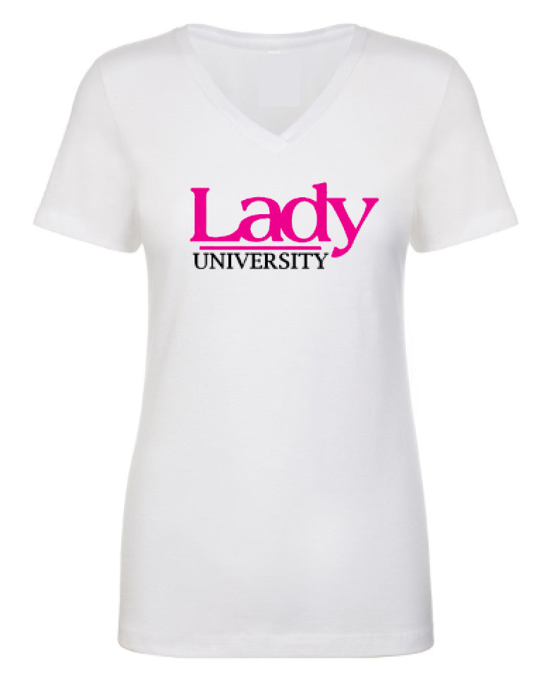 PRE-ORDER White Lady University Signature Tee