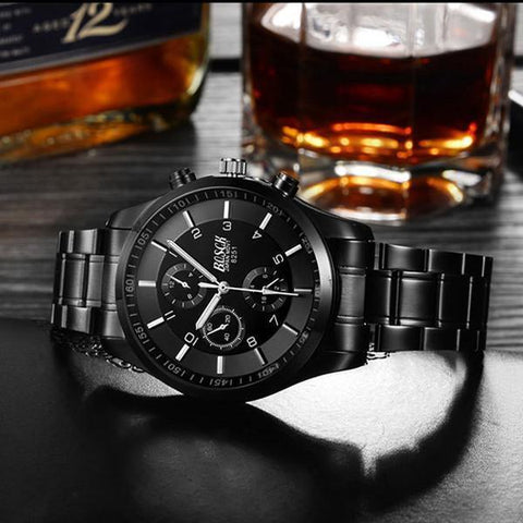 Fashion Men's Luxury  Waterproof  Watch