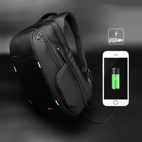 Computer Bag Travel Backpack With USB Charging Port