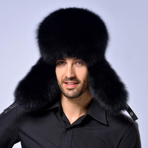 Winter Warm Fur Trapper Hat
