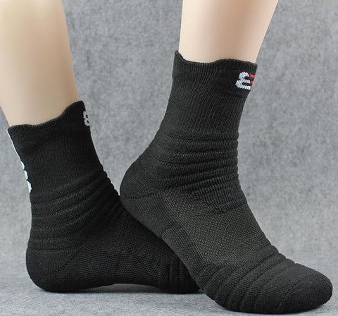 Casual Plain Cotton Sport Thicken Long Socks