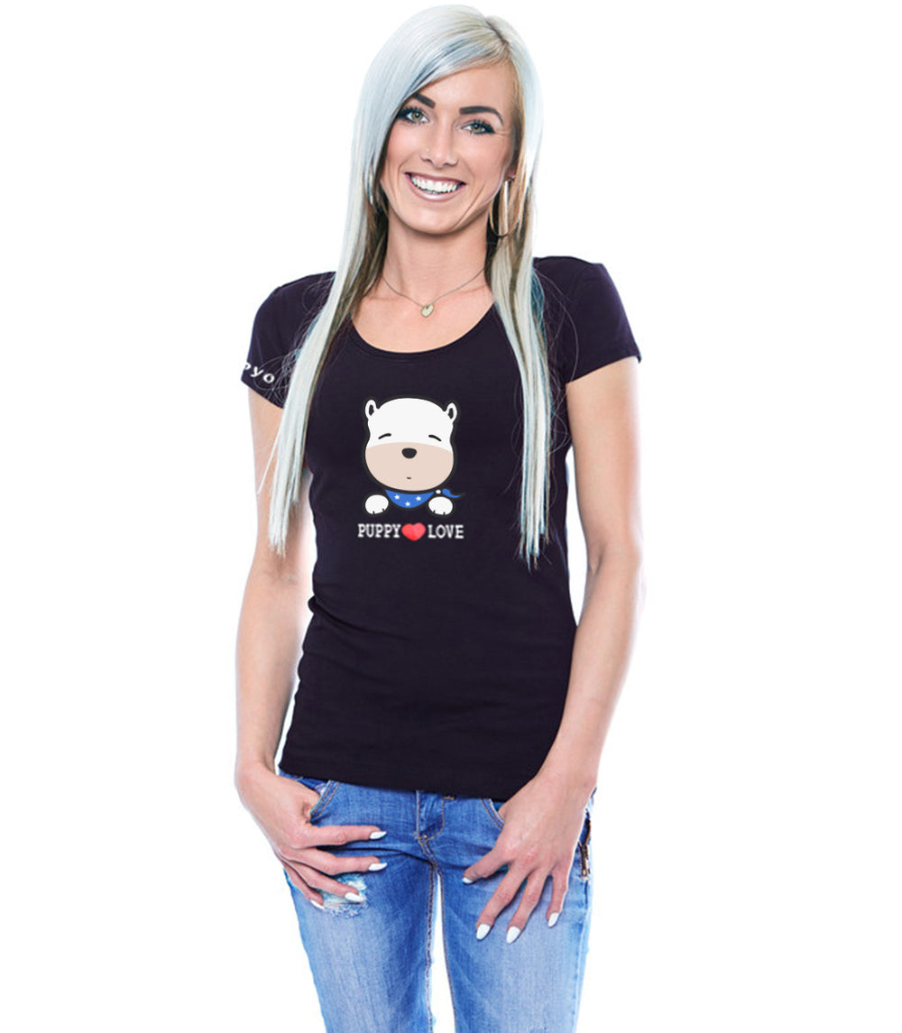 Puppy Love T-Shirt for Women