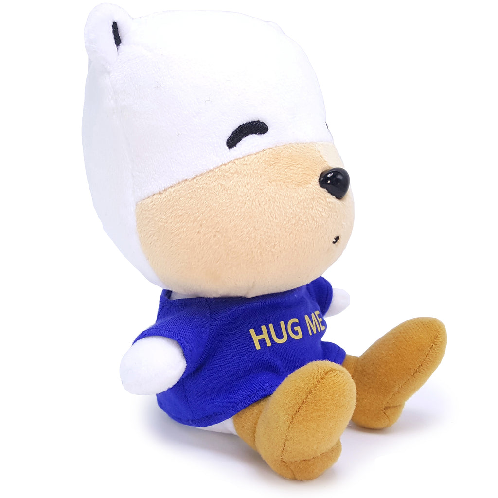 Pip Puppy Worlds Cutest Dog Plush Stuffed Animal - Blue Tee