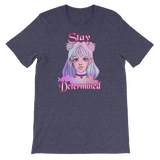Stay Determined Teen Original Art Short-Sleeve Unisex T-Shirt