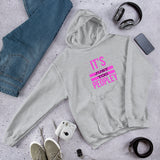 It's Just Too Peopley Graphic Women's Hoodie Sweatshirt
