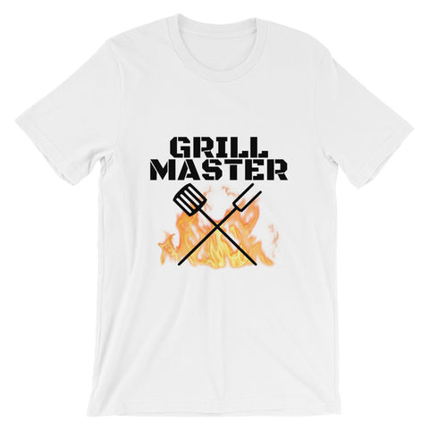 Grill Master Flaming Short-Sleeve Unisex T-Shirt