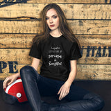 Ray of Sarcasm and Sunshine Graphic Tee for Women