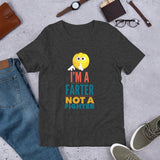 I'm A Farter Not A Fighter Funny Short-Sleeve Mens T-Shirt
