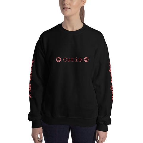 Cutie - I'm Cuter Than You Unisex Crewneck Sweatshirt For Teens