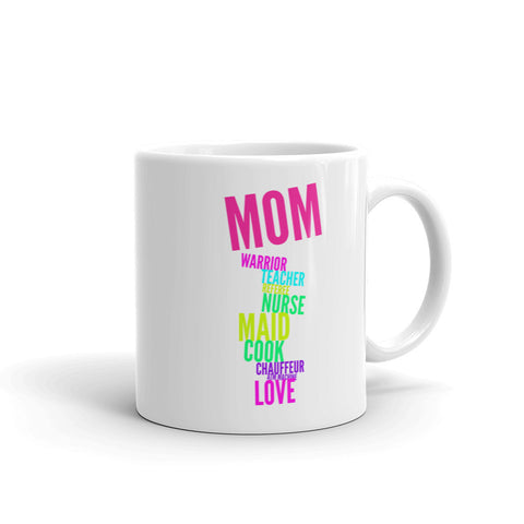 Mother's Day Fun, Colorful Coffee/Tea Mug in 11oz and 15oz