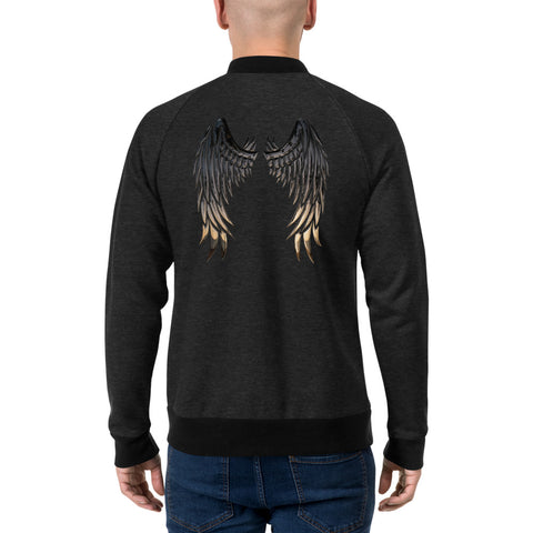 Angel Wings Lightweight Bomber Jacket