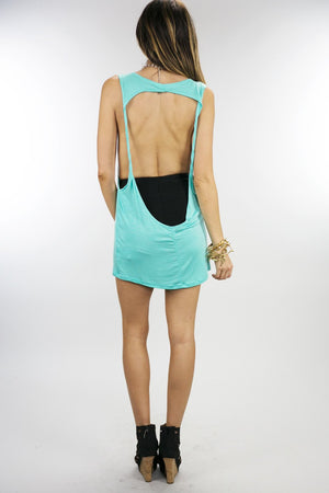 DRIPPING CHANEL TANK - Mint - Haute & Rebellious