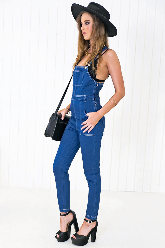 Riley Denim Overalls