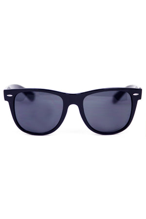 CLASSIC WAYFARER SUNGLASSES - Black - Haute & Rebellious