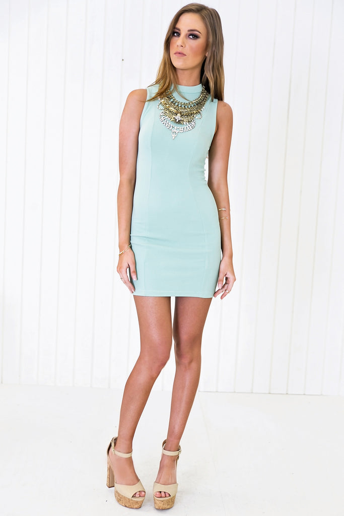 Railynn Sleeveless Body-Con Dress