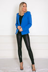 Basic Blazer - Blue