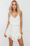 MARBELLA LACE SUN DRESS - Natural