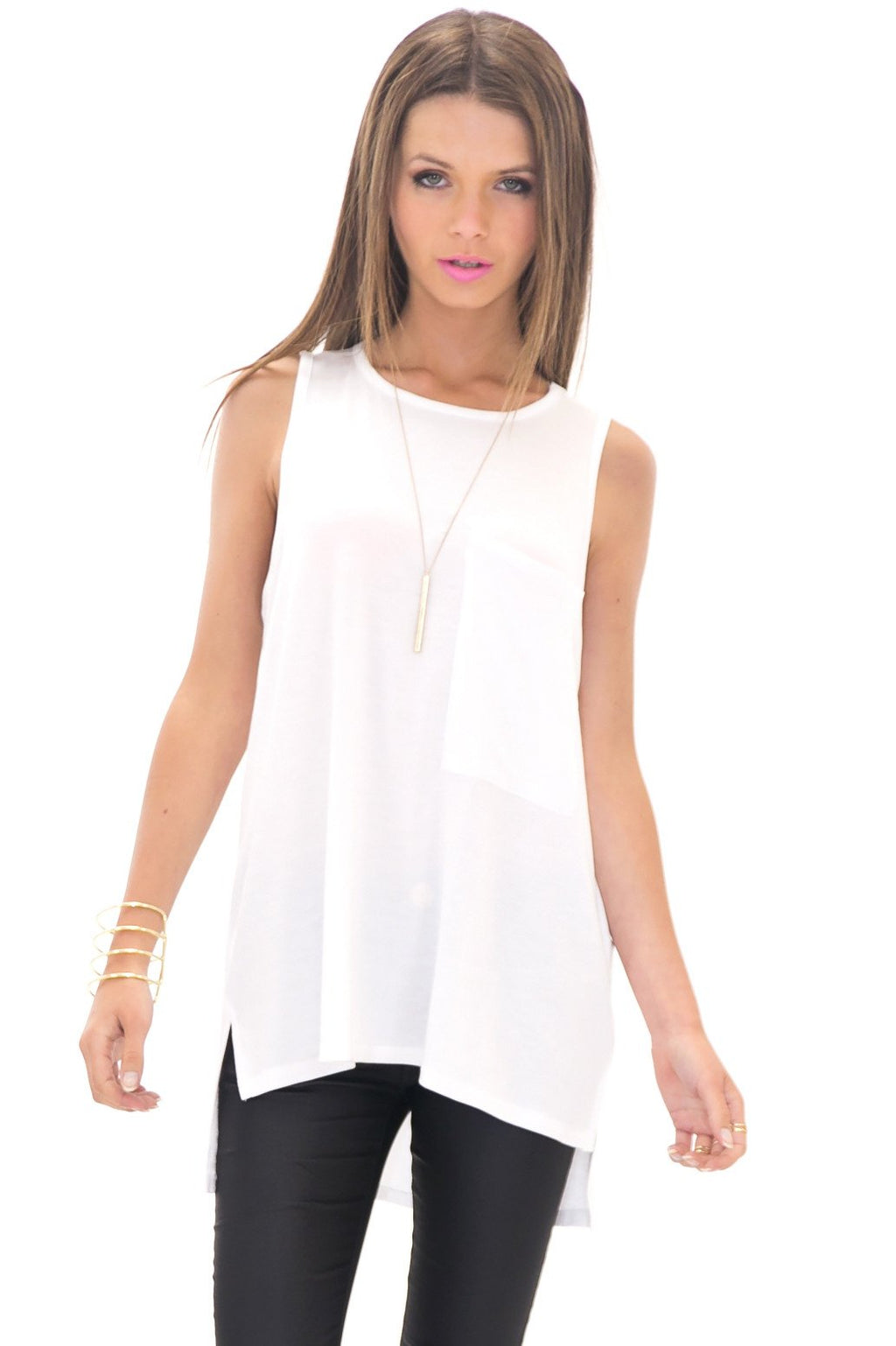 ALEXANDER LARGE POCKET TANK - Haute & Rebellious