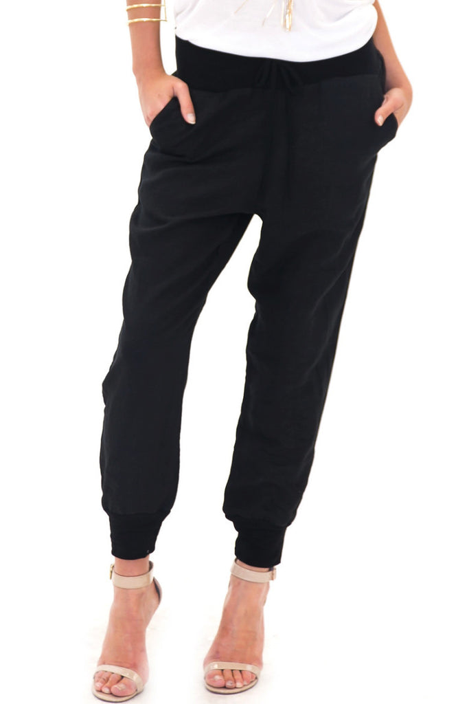 PAUL LINEN SWEAT PANT