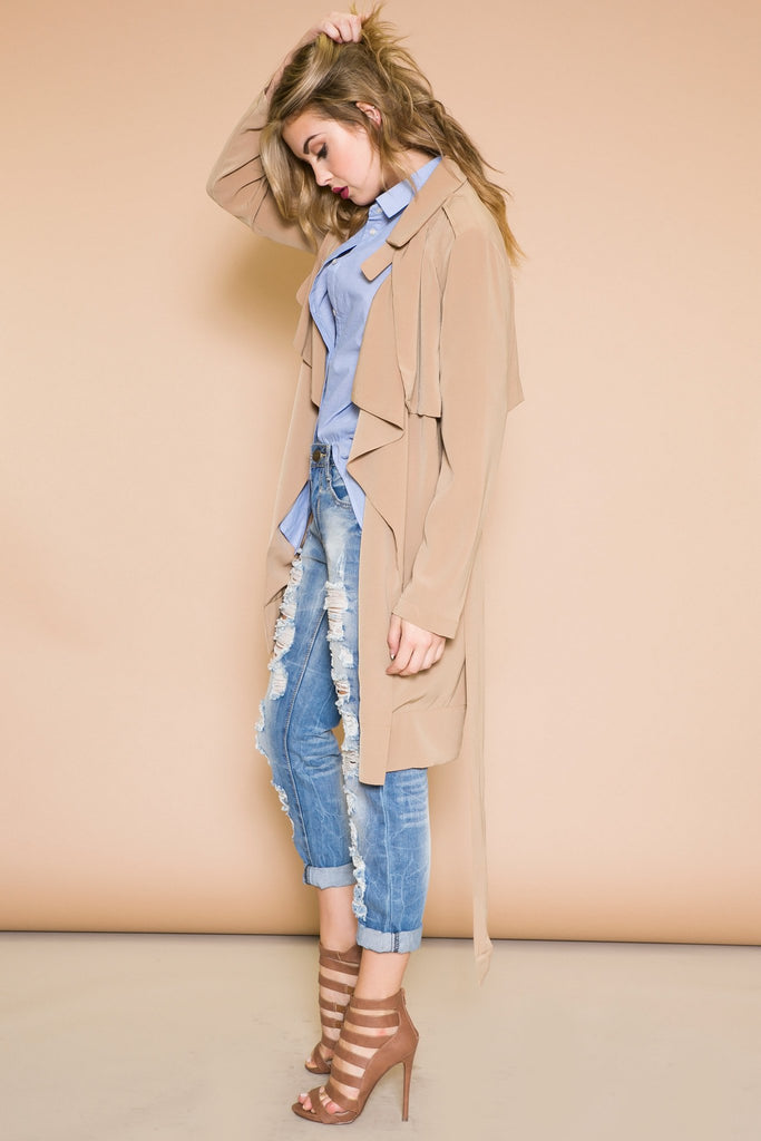 CAMELO WRAP COAT