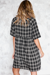 Plaid Mini Dress /// Only 1-S Left ///