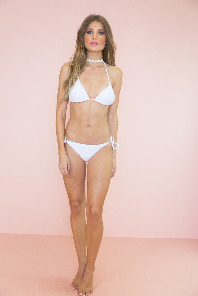 Summer Days Bikini Bottom - White