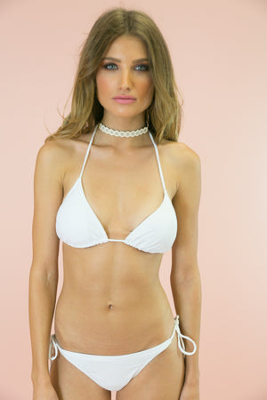 Summer Days Bikini Bottom - White - Haute & Rebellious