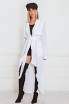 Light-Weight Coat - White