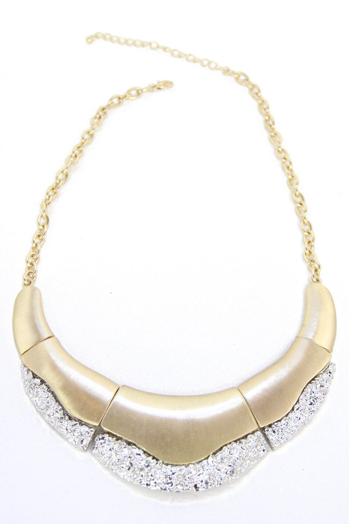 CLEO PLATED NECKLACE - Gold